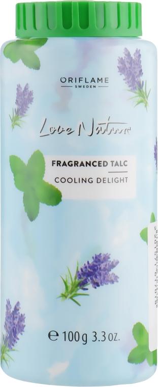 Парфюмированный тальк для тела «Мятная прохлада» - Oriflame Love Nature Fragranced Talc Cooling Delight