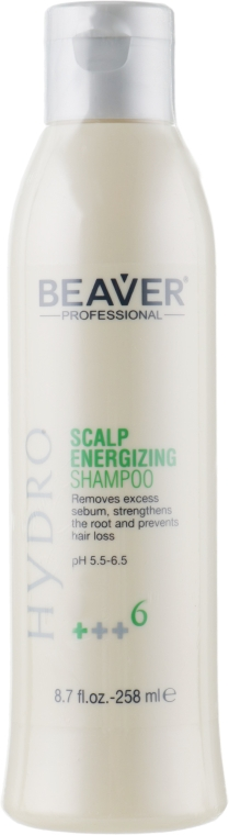 Тонизирующий шампунь против выпадения волос - Beaver Professional Hydro Shampoo