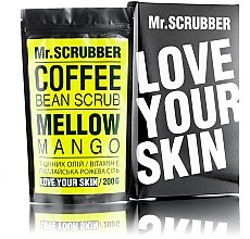 Парфумерія, косметика Кавовий скраб для обличчя і тіла - Mr.Scrubber Mellow Mango Scrub