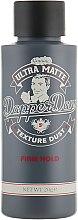 Парфумерія, косметика Пудра для укладання волосся - Dapper Dan Ultra Matte Texture Dust