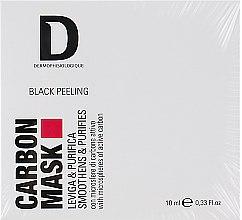 Духи, Парфюмерия, косметика Карбоновая маска с активированным углем для лица - Dermophisiologique Black Peeling Carbon Mask (мини)