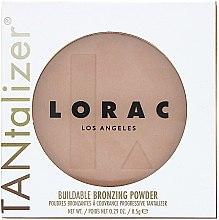 Духи, Парфюмерия, косметика Бронзирующая пудра - Lorac Tantalizer Buildable Bronzing Powder