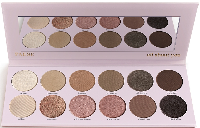 Палетка теней для век - Paese All About You Eyeshadow Palette — фото N1