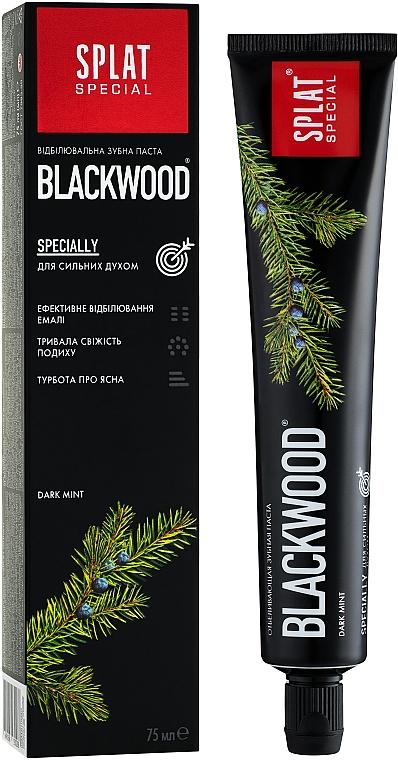 """Зубная паста """"Blackwood"""" - SPLAT Special"""