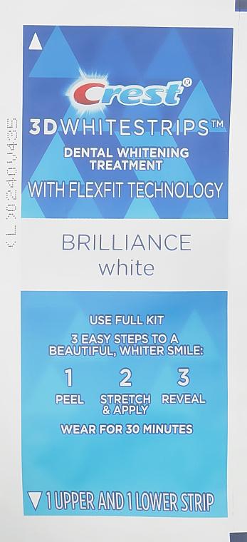 Отбеливающие полоски для зубов - Crest Whitestrips 3D Brilliance White