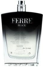 Духи, Парфюмерия, косметика Gianfranco Ferre Ferre Black - Туалетная вода (тестер без крышечки)