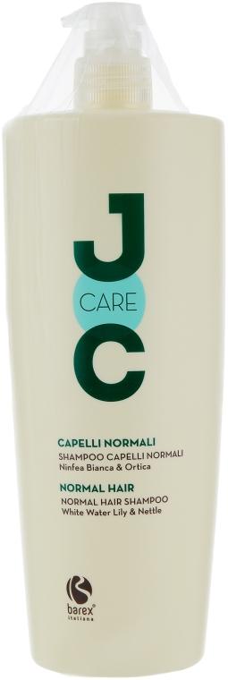 Шампунь для нормальных волос с экстрактом белой кувшинки и крапивы - Barex Italiana Joc Care Shampoo