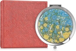 "Зеркальце карманное ""Цветочный принт"" - Devays Maker — фото N1"
