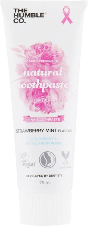 "Натуральная зубная паста ""Клубника и мята"" - The Humble Co. Natural Toothpaste Strawberry Mint"