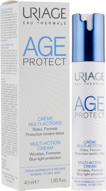 Мультиактивный крем для лица против морщин для нормальной и сухой кожи - Uriage Age Protect Multi-Action Cream
