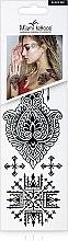Духи, Парфюмерия, косметика Черные переводные тату - Miami Tattoos Black Ink (мини)