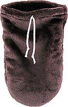 Духи, Парфюмерия, косметика Варежки для парафинотерапии махровые, коричневые - Tufi Profi