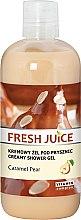 """Духи, Парфюмерия, косметика Крем-гель для душа """"Груша в карамели"""" - Fresh Juice Caramel Pear Creamy Shower Gel"""