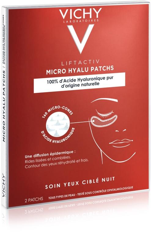 Патчи с гиалуроновой кислотой для ухода за кожей вокруг глаз - Vichy Liftactiv Patches