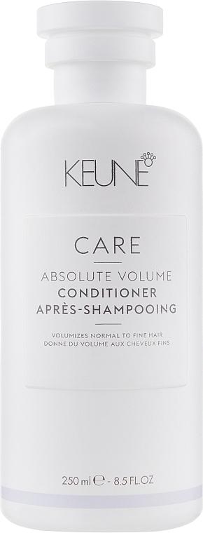 """Кондиционер для волос """"Абсолютный объем"""" - Keune Care Absolute Volume Conditioner"""