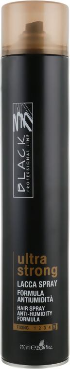 Лак ультра сильной фиксации - Black Professional Line Ultra Strong  — фото N5