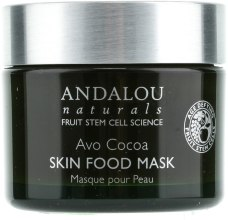 Духи, Парфюмерия, косметика Питательная маска с авокадо и какао - Andalou Naturals Age-Defying Avo Cocoa Skin Food Mask
