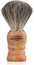 Духи, Парфюмерия, косметика Кисть для бритья - Barburys Shaving Brush Grey Olive