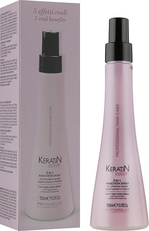 Спрей для окрашенных волос 5в1 - Phytorelax Laboratories Keratin Color 5-in-1 Spray Mask