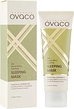 Духи, Парфюмерия, косметика Ночная омолаживающая крем-маска - Ovaco Wrinkle & Soothing Sleeping Cream Mask