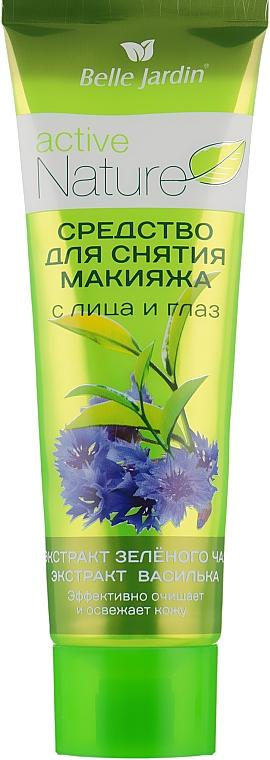 Средство для снятия макияжа с лица и глаз с экстрактом зеленого чаем и василька - Belle Jardin Active Nature Eco