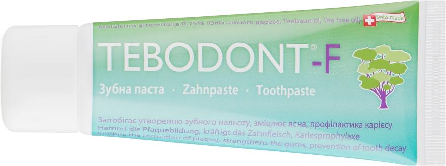 Зубная паста с маслом чайного дерева - Dr. Wild Tebodont