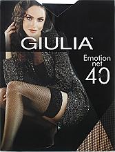 "Духи, Парфюмерия, косметика Чулки для женщин ""Emotion Net"" 40 Den, nero - Giulia"