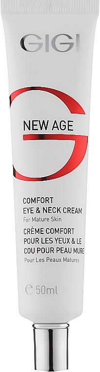 Крем для вік і шиї - Gigi New Age Comfort Eye & Neck Cream — фото N1