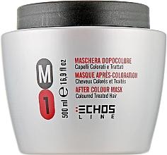 Духи, Парфюмерия, косметика Маска для окрашенных и поврежденных волос - Echosline M1 After Color Mask