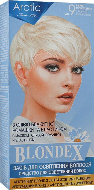 Средство для осветления волос, комплект - Supermash Blondex Arctic