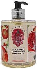 """Духи, Парфюмерия, косметика Жидкое мыло """"Гранат"""" - La Florentina Pomegranate Liquid Soap"""
