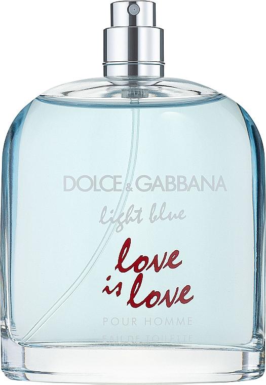 Dolce&Gabbana Light Blue Love is Love Pour Homme - Туалетная вода (тестер без крышечки)