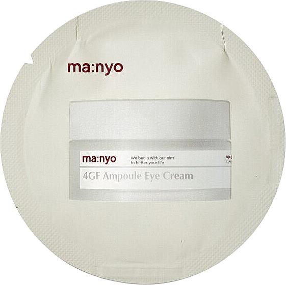 Увлажняющий крем для кожи вокруг глаз с подтягивающим эффектом - Manyo Factory 4GF Ampoule Eye Cream (пробник)