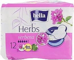 Духи, Парфюмерия, косметика Прокладки Panty Herbs Verbena, 12 шт. - Bella