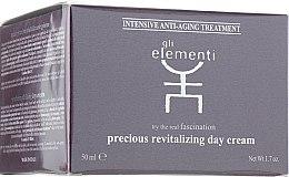 Духи, Парфюмерия, косметика Восстанавливающий дневной крем для лица - Gli Elementi Precious Revitalizing Day Cream