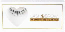 Духи, Парфюмерия, косметика Накладные ресницы - Lash Brow Premium Silk Lashes Natural Glam
