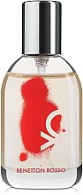 Духи, Парфюмерия, косметика Benetton Rosso Woman - Туалетная вода (тестер с крышечкой)