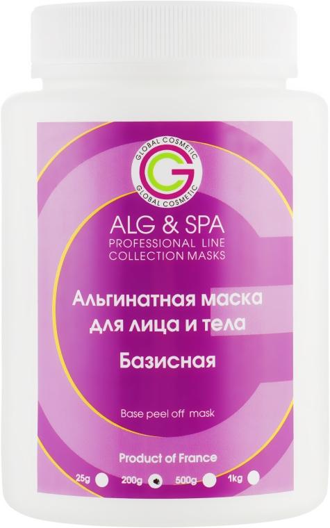 Альгинатная маска базисная для лица и тела - ALG & SPA Professional Line Collection Masks Base Peel Off Mask