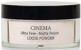 Духи, Парфюмерия, косметика Матирующая рассыпчатая пудра - Delfy Cosmetics Cinema Matte Finish Loose Powder