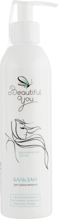 """Бальзам """"Восстанавливающий уход"""" для сухих и поврежденных волос - Beautiful You"""