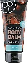 Духи, Парфюмерия, косметика Бальзам для тела с маслом ореха макадамии, увеличивающий упругость - Cosmepick Body Balm Macadamia Nuts