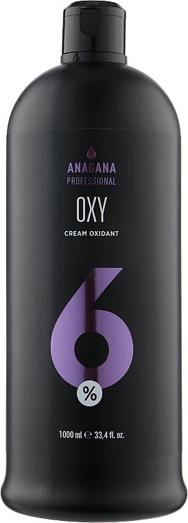 Крем-окислитель для волос OXY 6% - Anagana Cream Oxidant