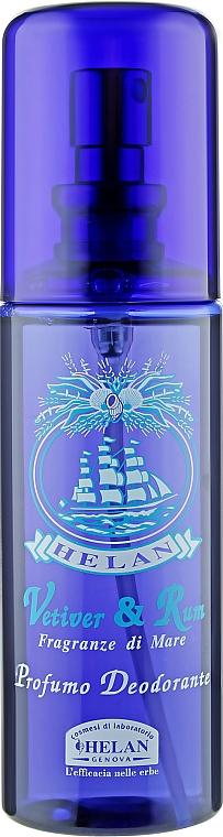 Ароматизированный дезодорант для мужчин - Helan Vetiver & Rum Scented Deodorant