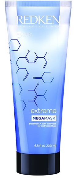 Маска для поврежденных волос с протеинами - Redken Extreme Mega Mask