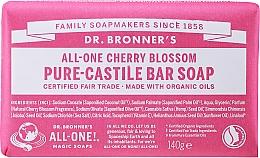 """Духи, Парфюмерия, косметика Универсальное твердое мыло """"Вишня в цвету"""" - Dr. Bronner's All-One! Cherry Blossom Pure-Castile Bar Soap"""