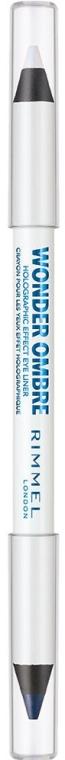 Двусторонний карандаш для век - Rimmel Wonder Ombre Holographic Eye Liner