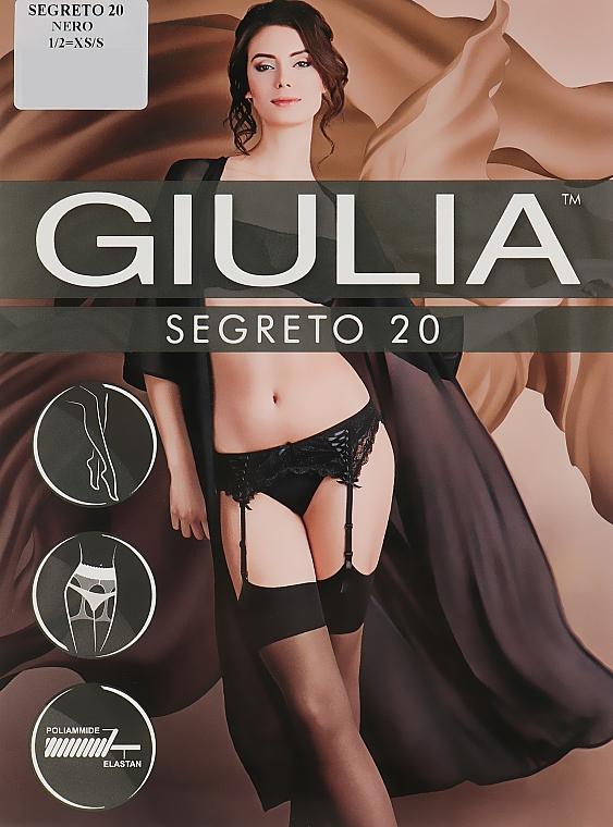 "Чулки ""Segreto "" 20 Den, nero - Giulia"