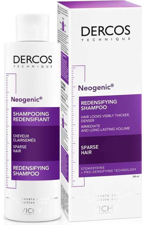 Укрепляющий шампунь для повышения густоты волос со Стемоксидином - Vichy Dercos Neogenic Redensifying Shampoo — фото N2