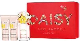 Духи, Парфюмерия, косметика Marc Jacobs Daisy Eau So Fresh - Набор (edt 75ml + b/lol 75ml + sh/g 75ml)