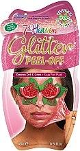 Духи, Парфюмерия, косметика Маска-пленка для лица с глиттером - 7th Heaven Glitter Peel-Off Face Mask